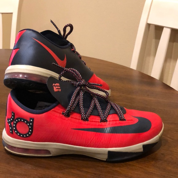 Nike Shoes | Nike Kevin Durant Kds Red